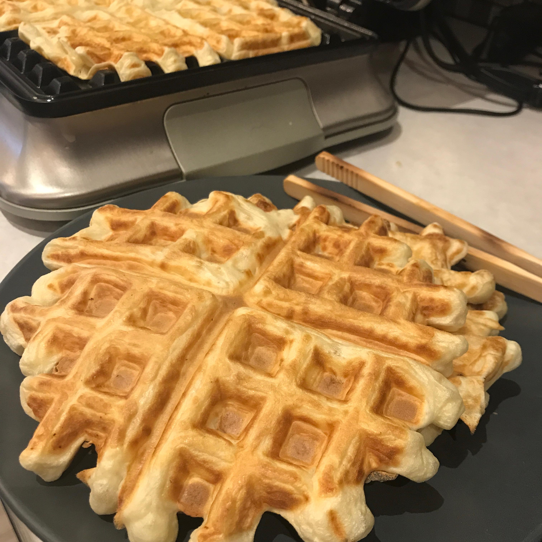 Sour Cream Waffles_image