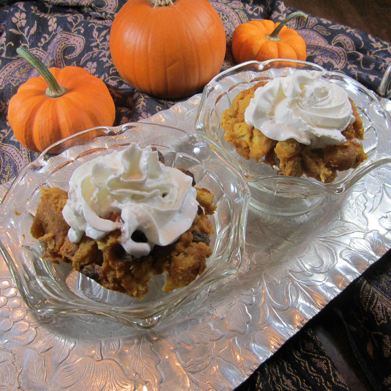 Pumpkin Bread Pudding Vivi