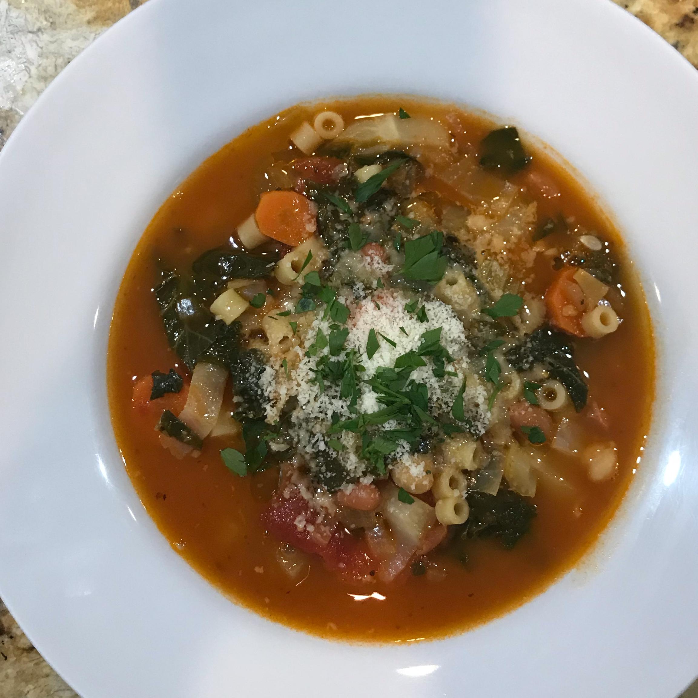 Chef John's Minestrone Soup