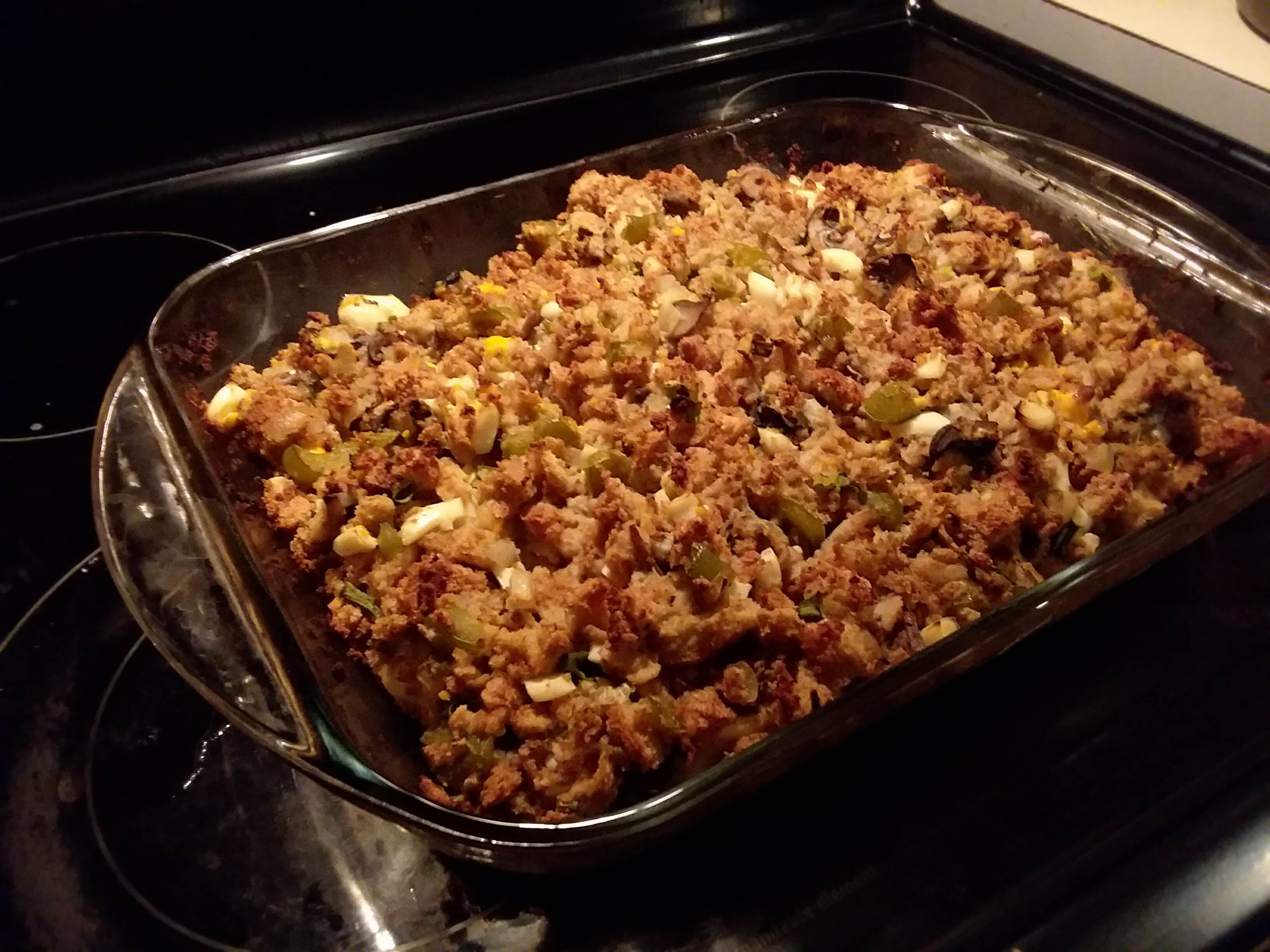 sausage and oyster stuffing recipe