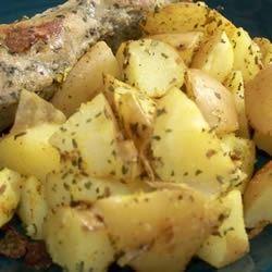 Curried Cumin Potatoes lobsteriffic