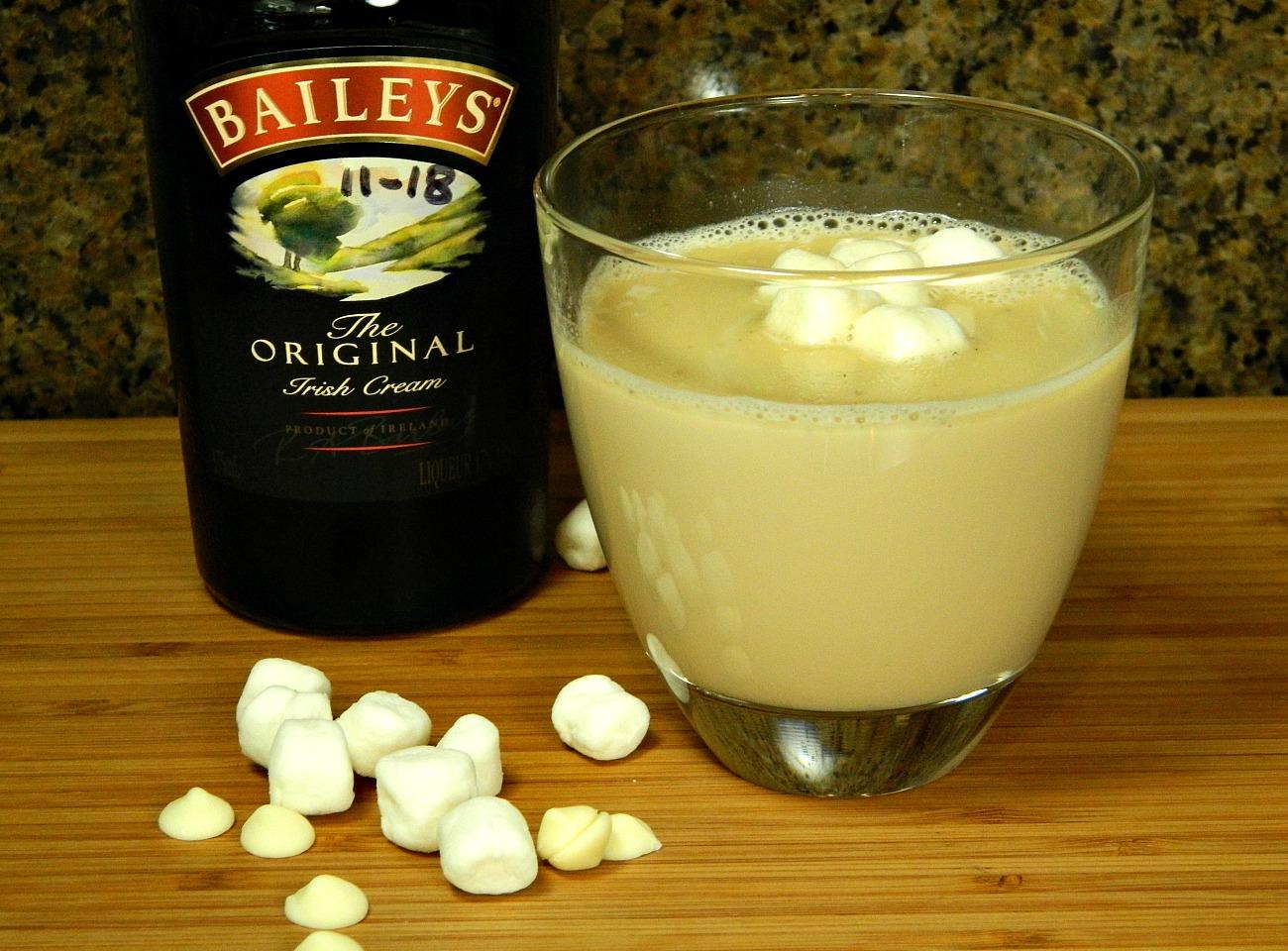 White Chocolate Chai with Baileys Marianne