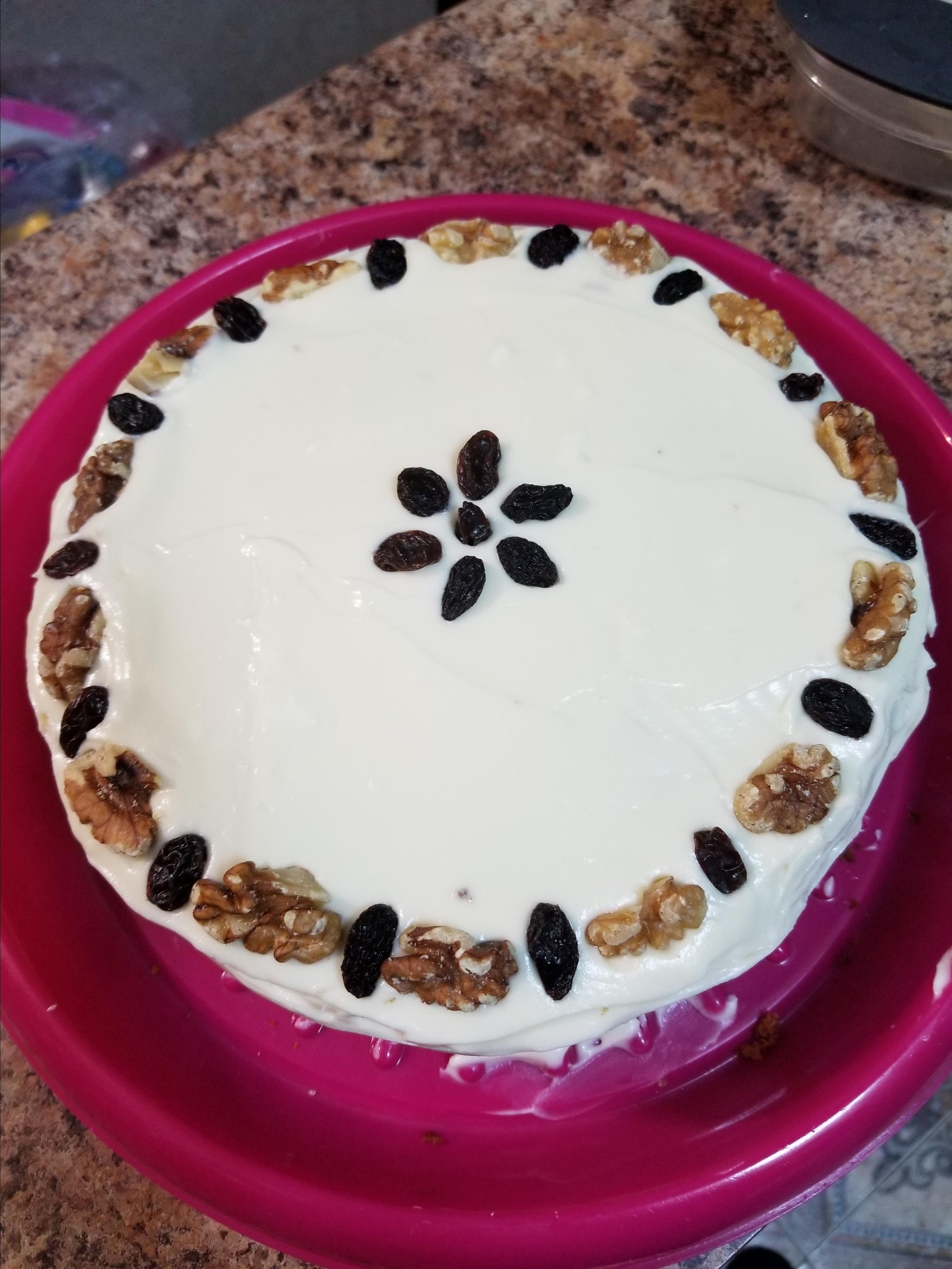 A Memorial Day Carrot Cake Recipe Vanessa
