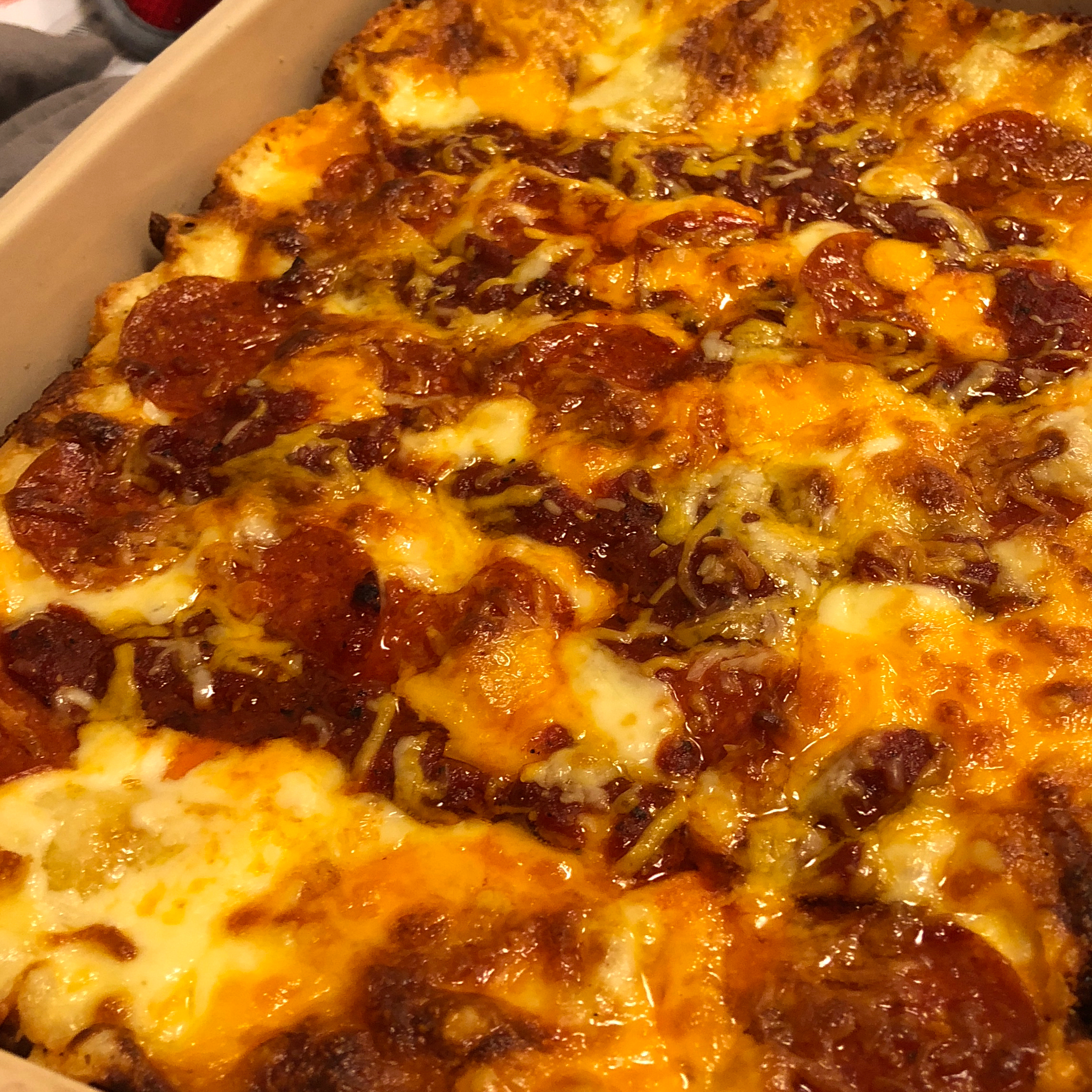 Detroit-Style Pizza Dark Lord of the Pan