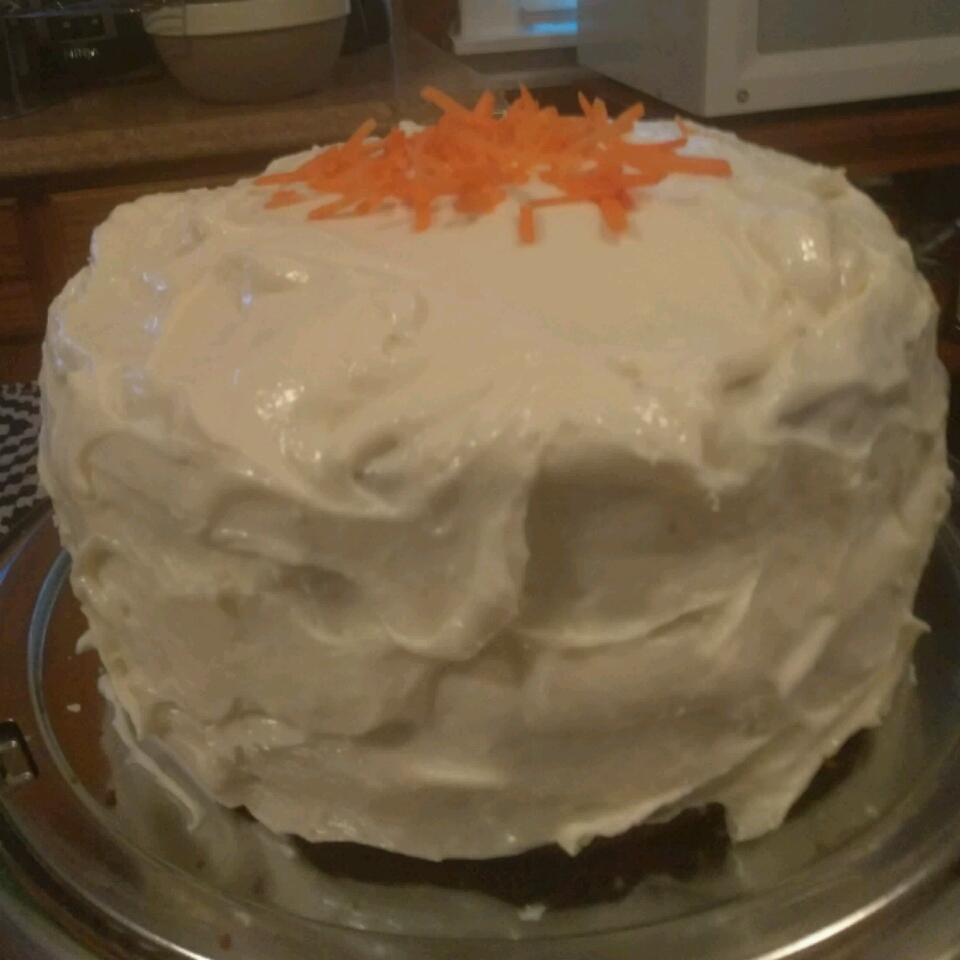 Carrot Cake with Pineapple Cream Cheese Frosting Nita