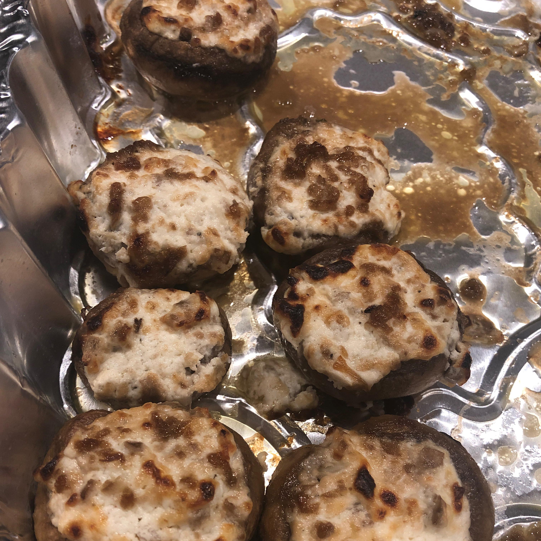 Cheese Stuffed Mushroom Appetizer Anuj Singh