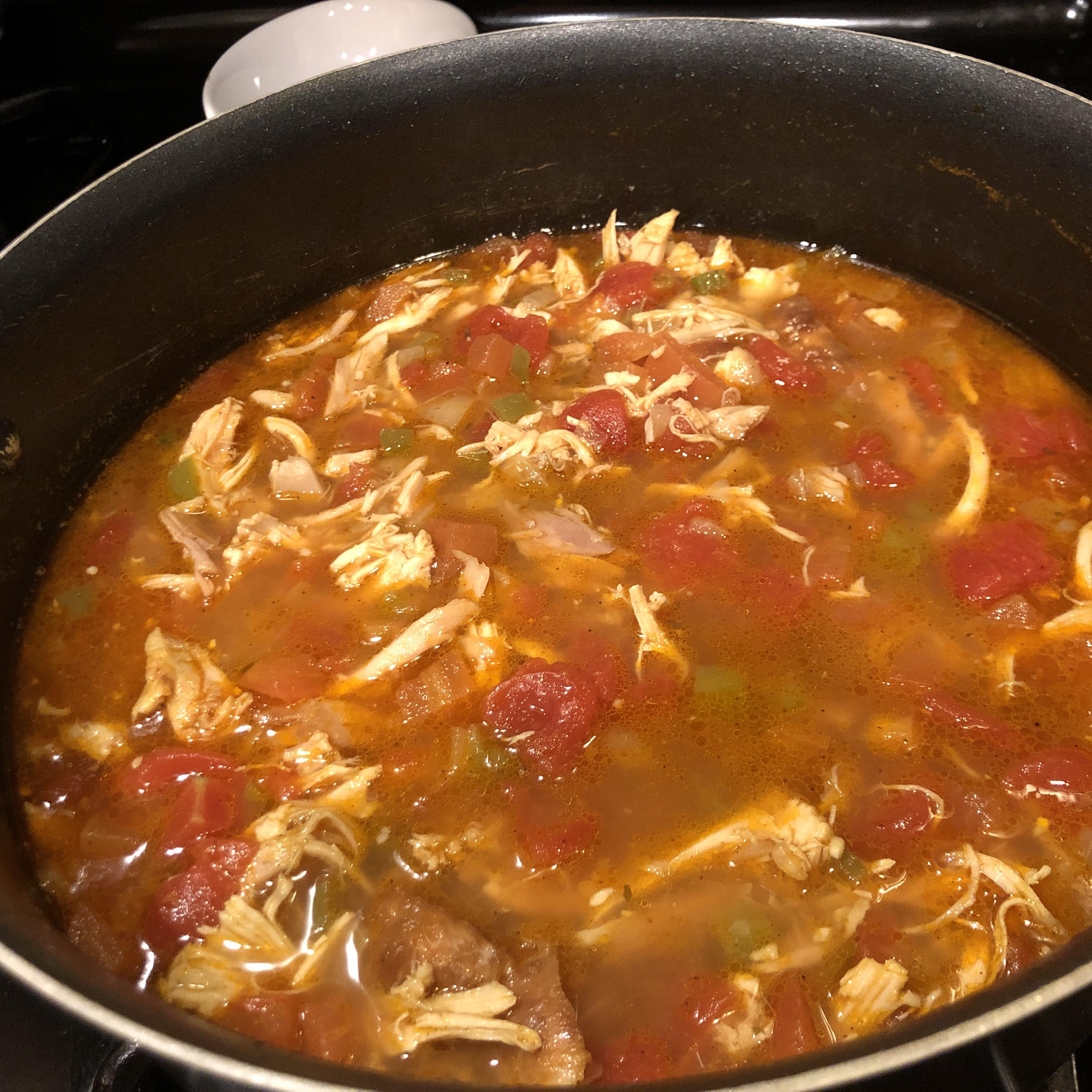 The World's Best Tortilla Soup Candice