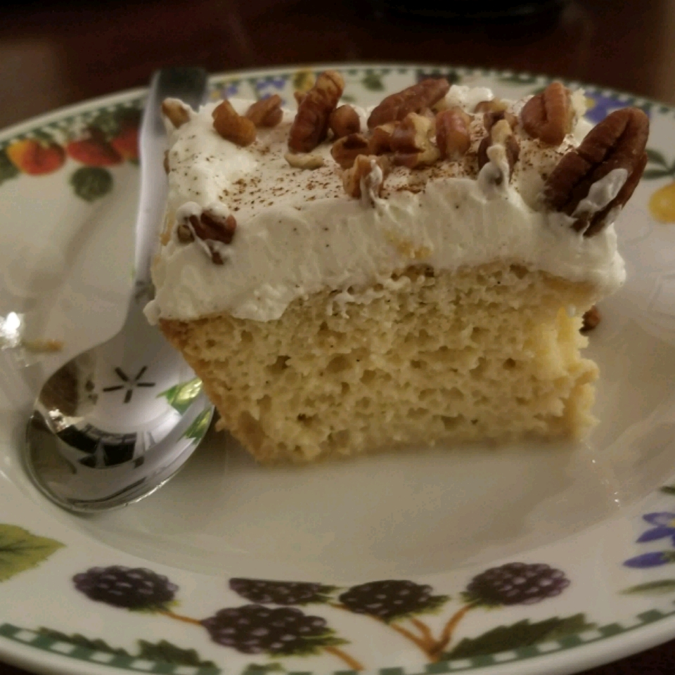 Tres Leches (Milk Cake) writinghill85