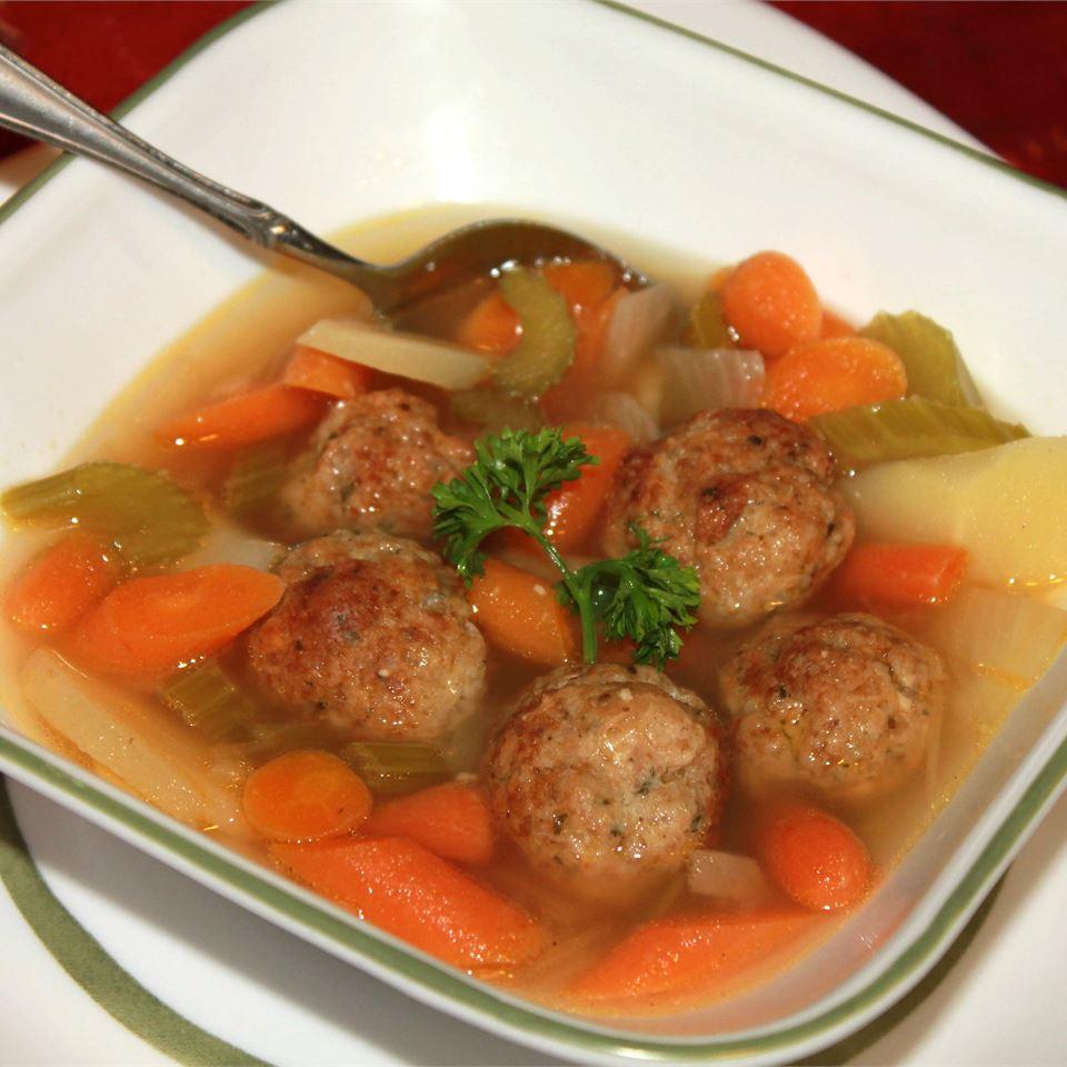 Chicken Meatball Soup TI2GR