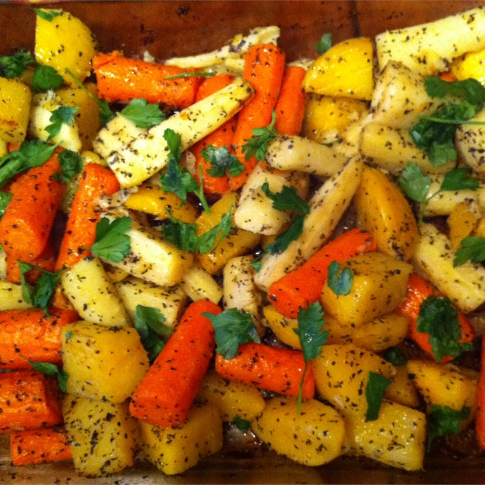 Roasted Winter Root Vegetables