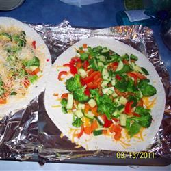 Vegetable Quesadillas