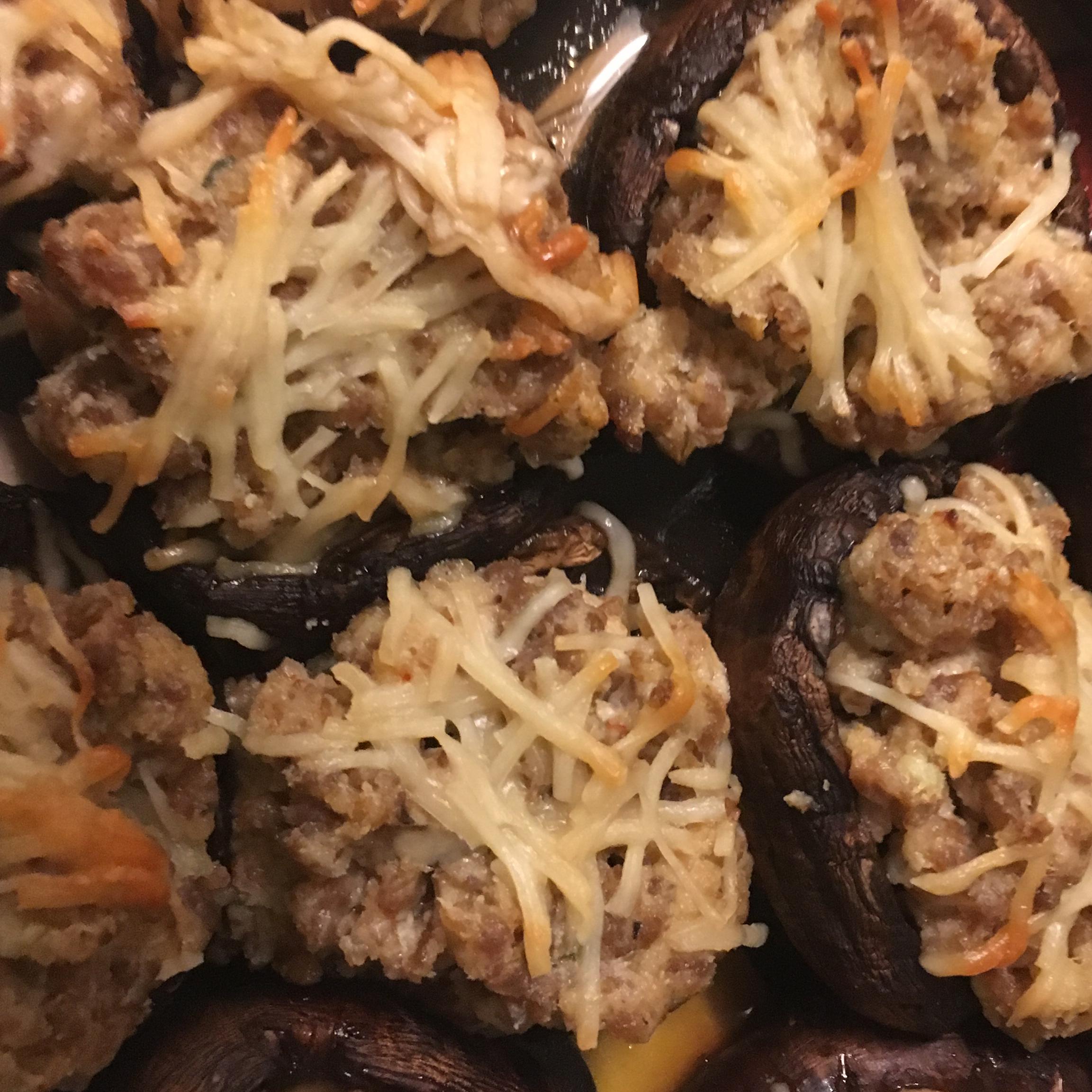 Sausage Stuffed Mushrooms