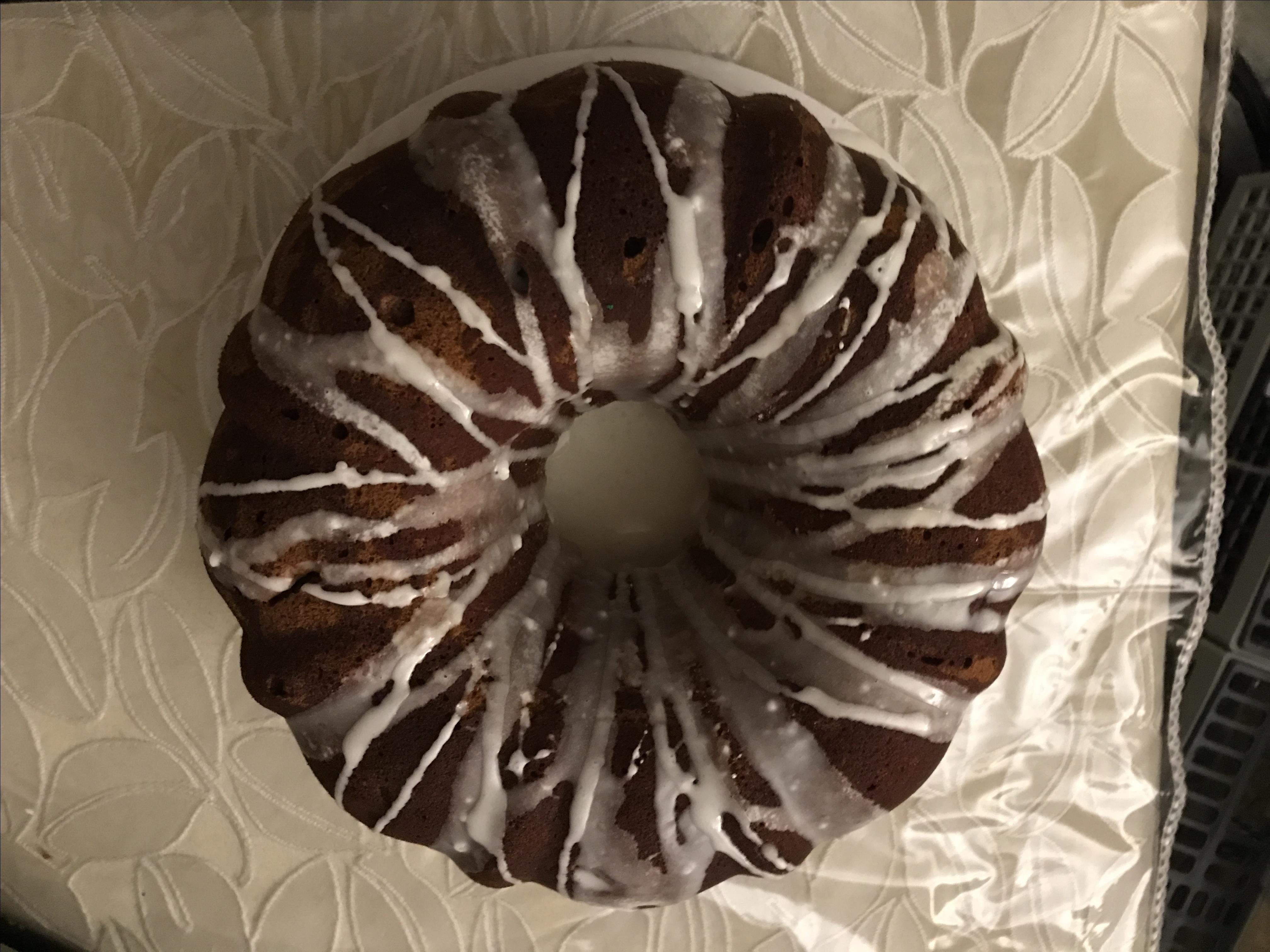 Sour Cream Pear Cake mzott
