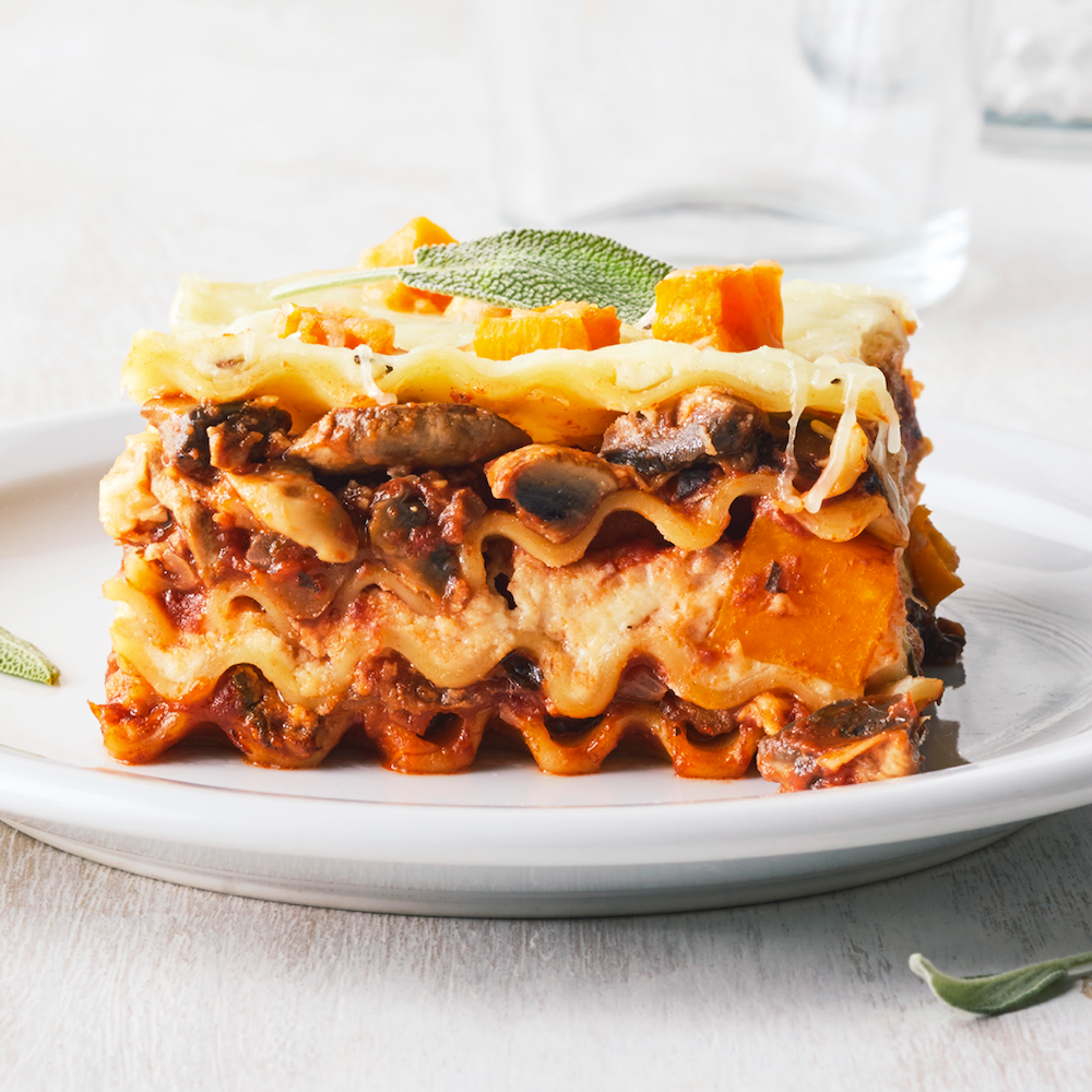 Very Veggie Lasagna Allrecipes Magazine
