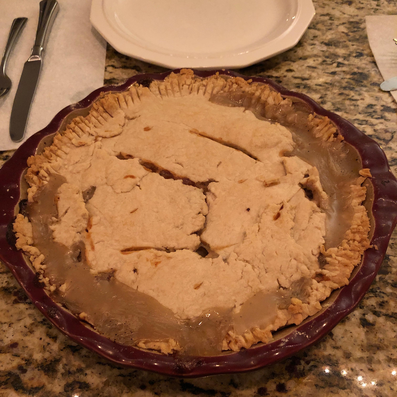 Grandma's Leftover Turkey Pot Pie