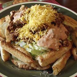 Cheeseburger Salad ~TxCin~ILove2Ck