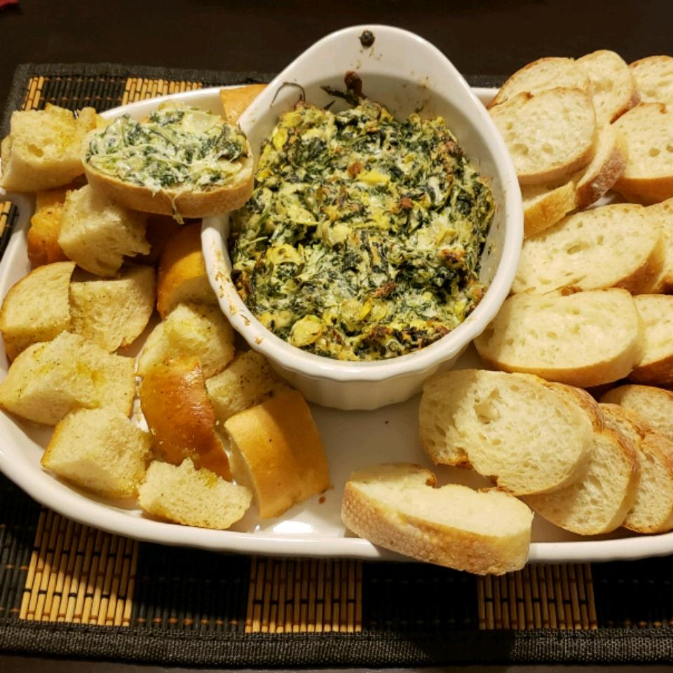 Chef John's Hot Spinach Artichoke Dip blzzardhater