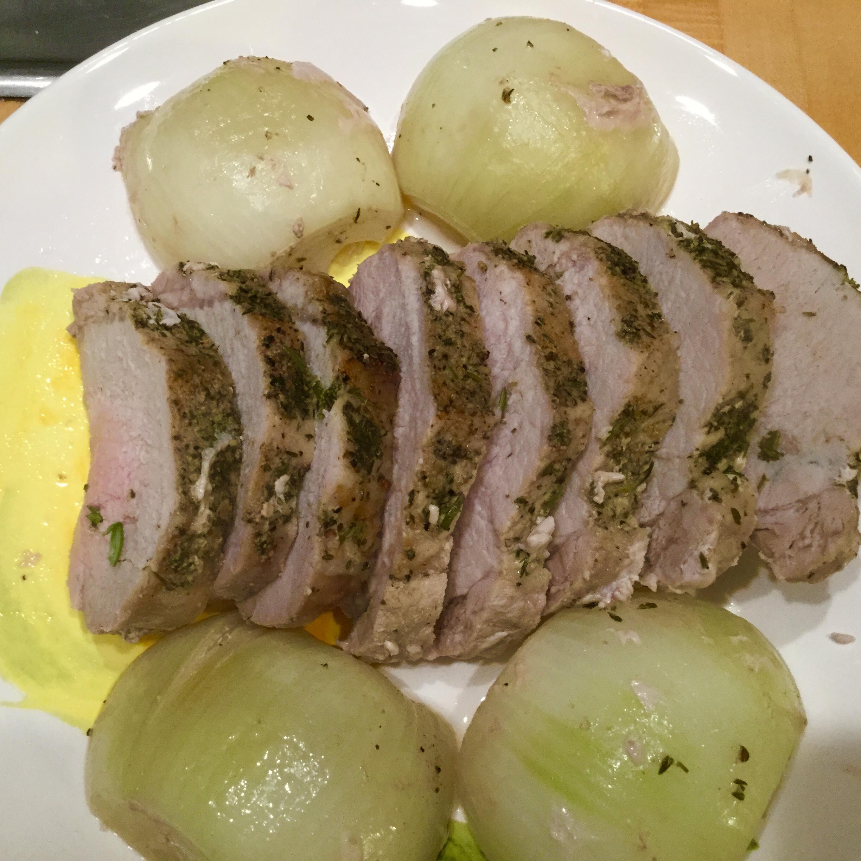 Schweineruckbraten (Microwave Loin of Pork) Ken Judy