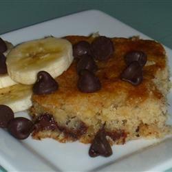 Banana Chocolate Chip Dessert