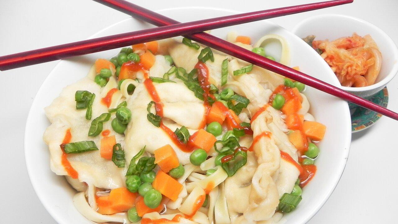 Shrimp Wonton with Noodles
