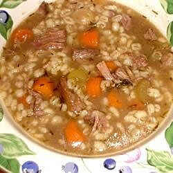 beef and barley soup i recipe