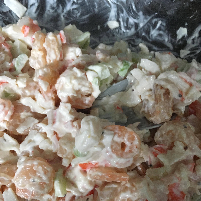 Classic Crab and Shrimp Salad Karina Hernandez