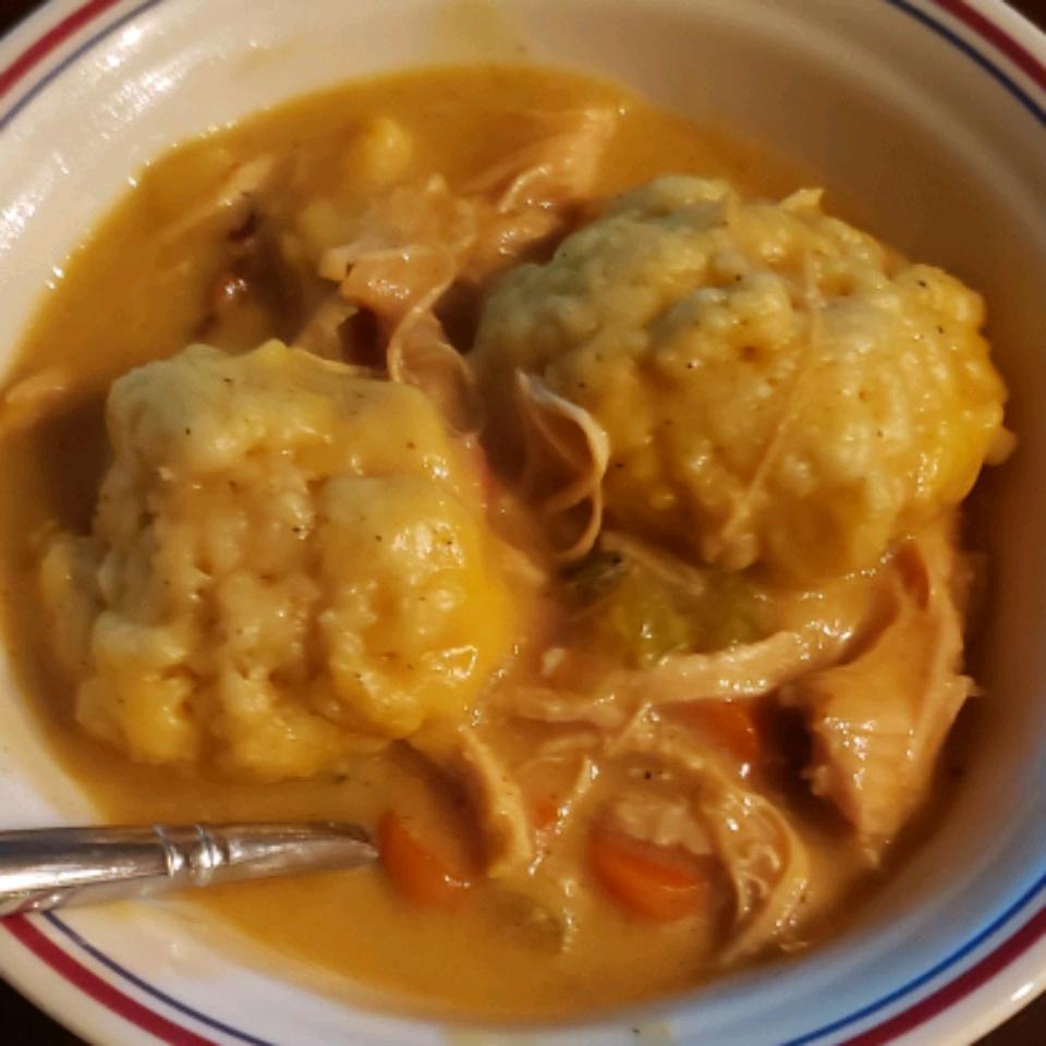 Lighter Chicken and Dumplings hdavis