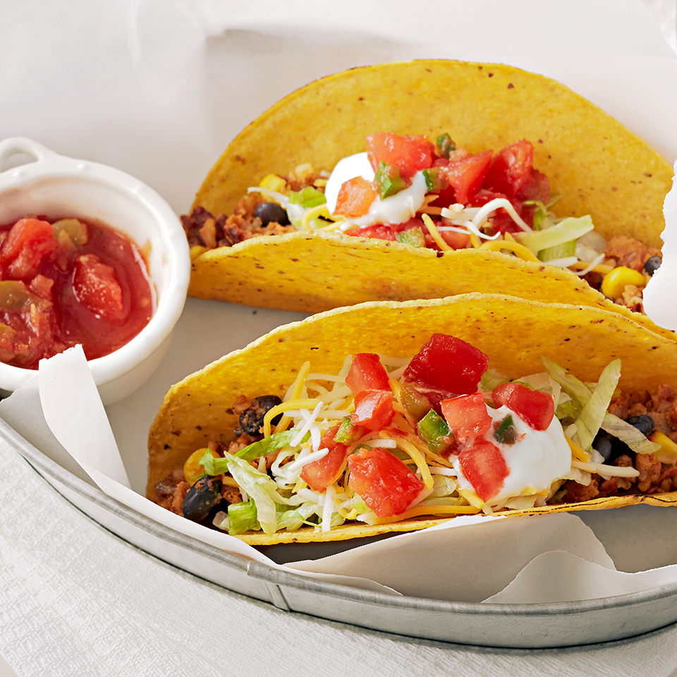 Quick Crunchy Black Bean Tacos Diabetic Living Magazine