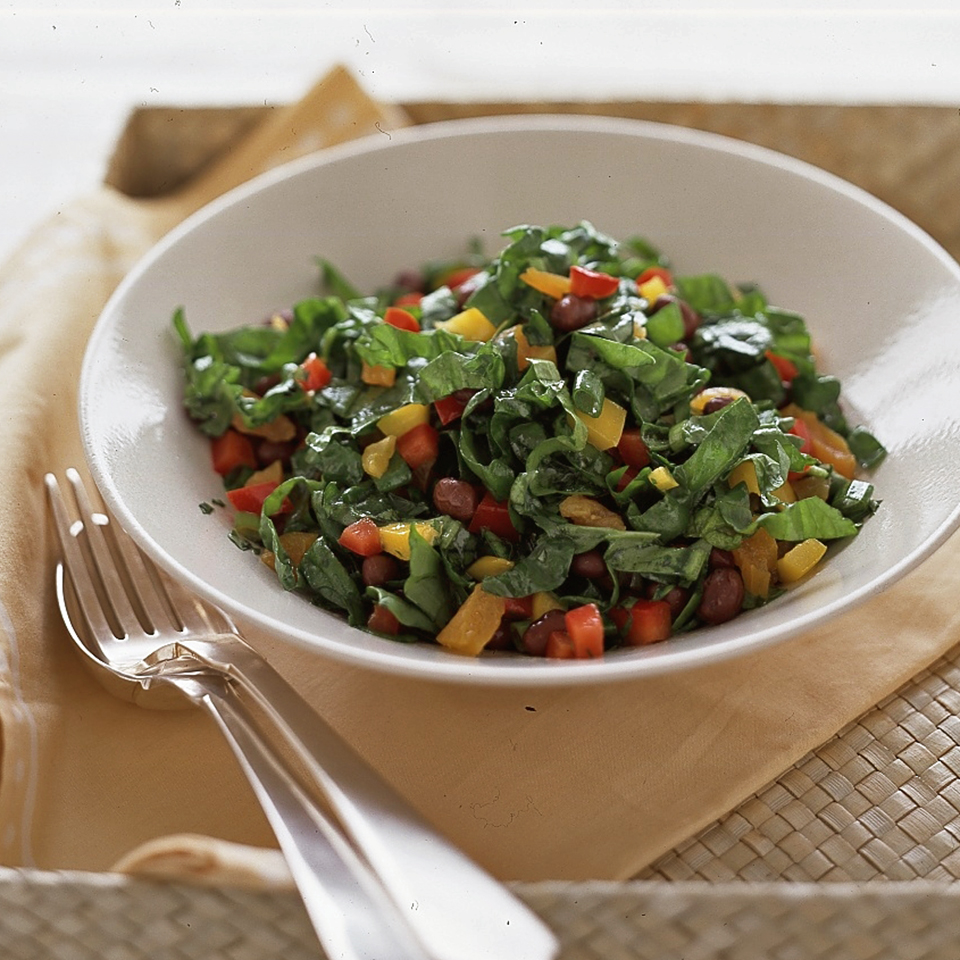 Apricot-Spinach Salad Diabetic Living Magazine