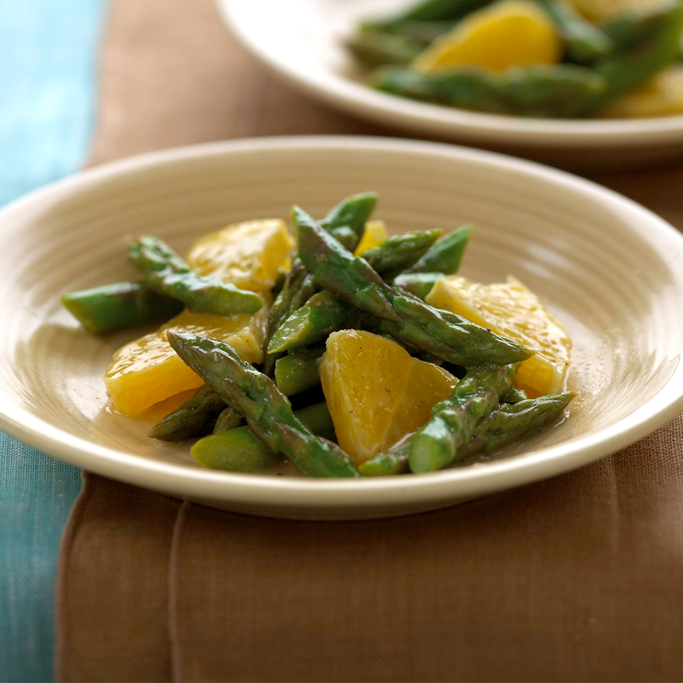 Orange-Asparagus Salad Diabetic Living Magazine