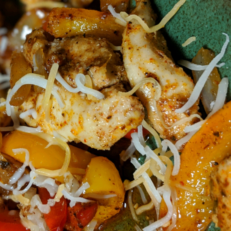 Sheet Pan Chicken Fajitas Nicole Jungclas