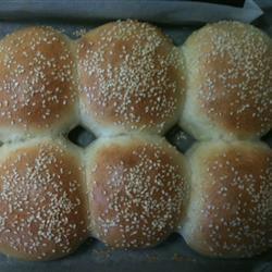 Soft-N-Fluffy Hamburger Buns