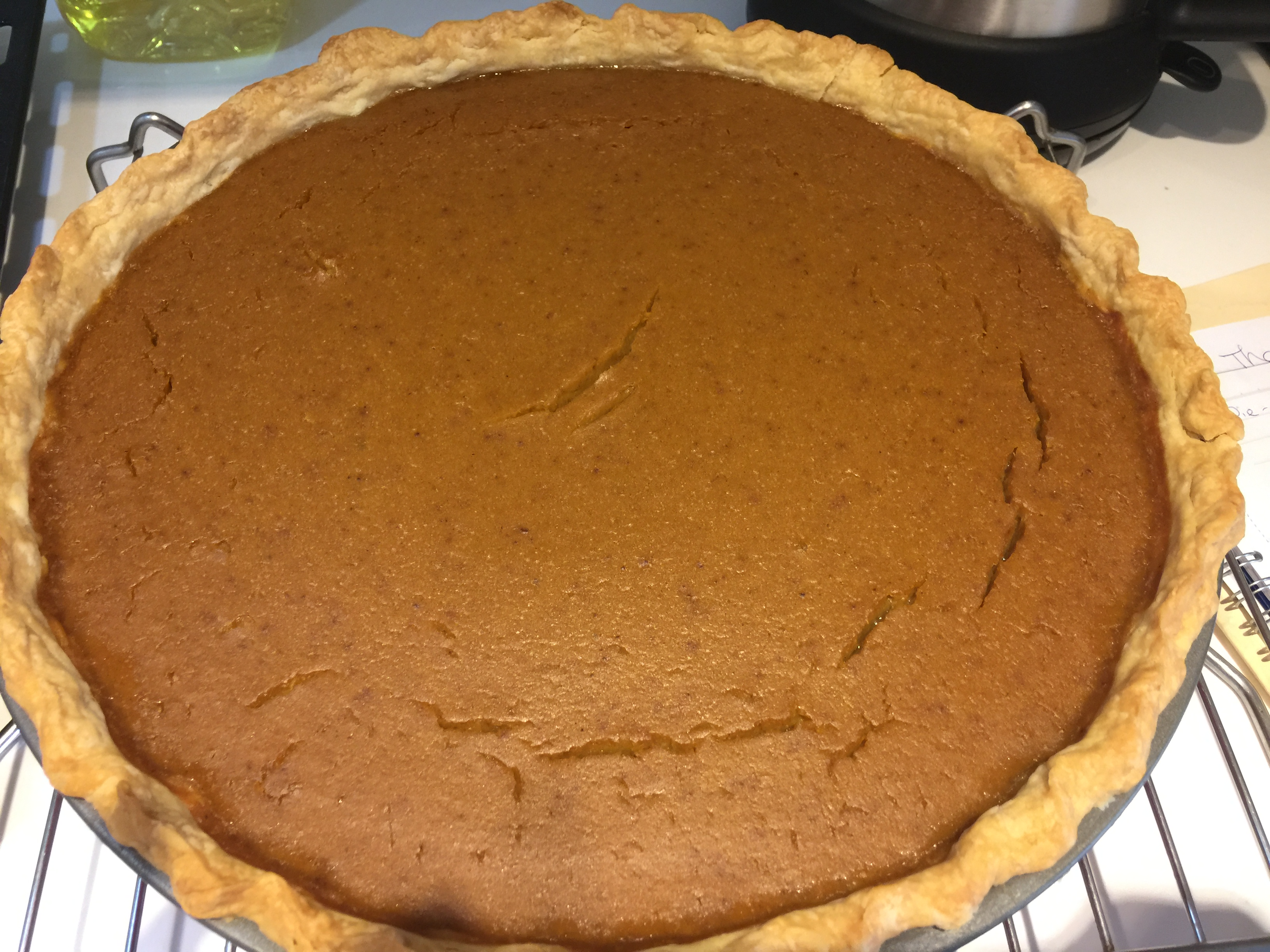 Killer Pumpkin Pie