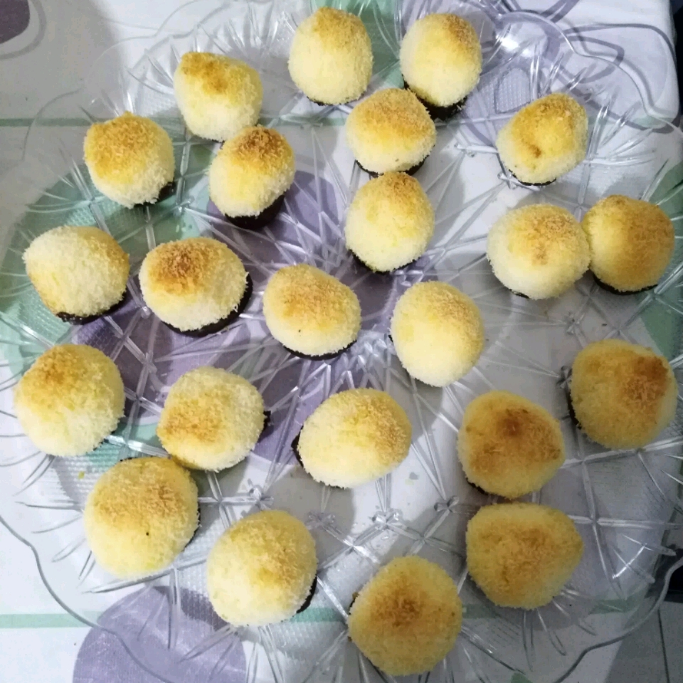 Chocolate-Dipped Coconut Macaroons Maria Khairallah