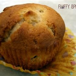 Jumbo Fluffy Walnut Apple Muffins phoebe