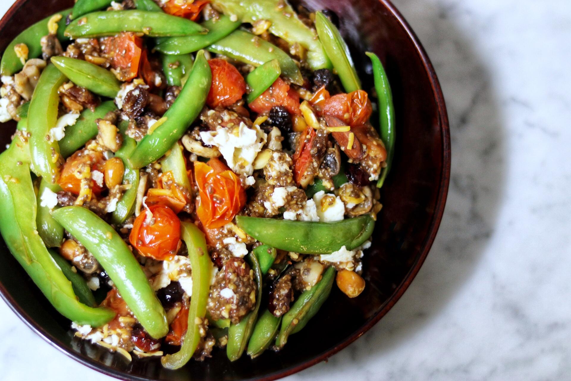Vegetarian Garden Stir-Fry