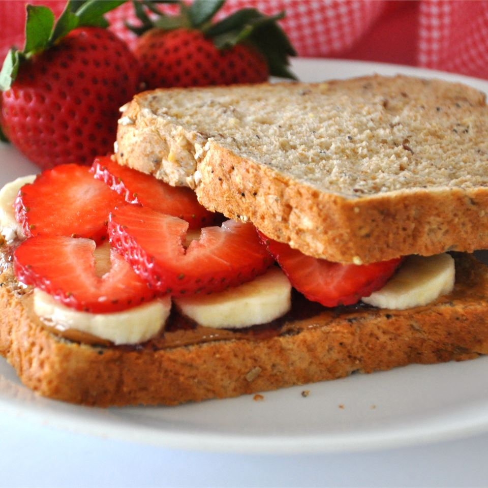 Deluxe Almond Butter Sandwiches LaVerne