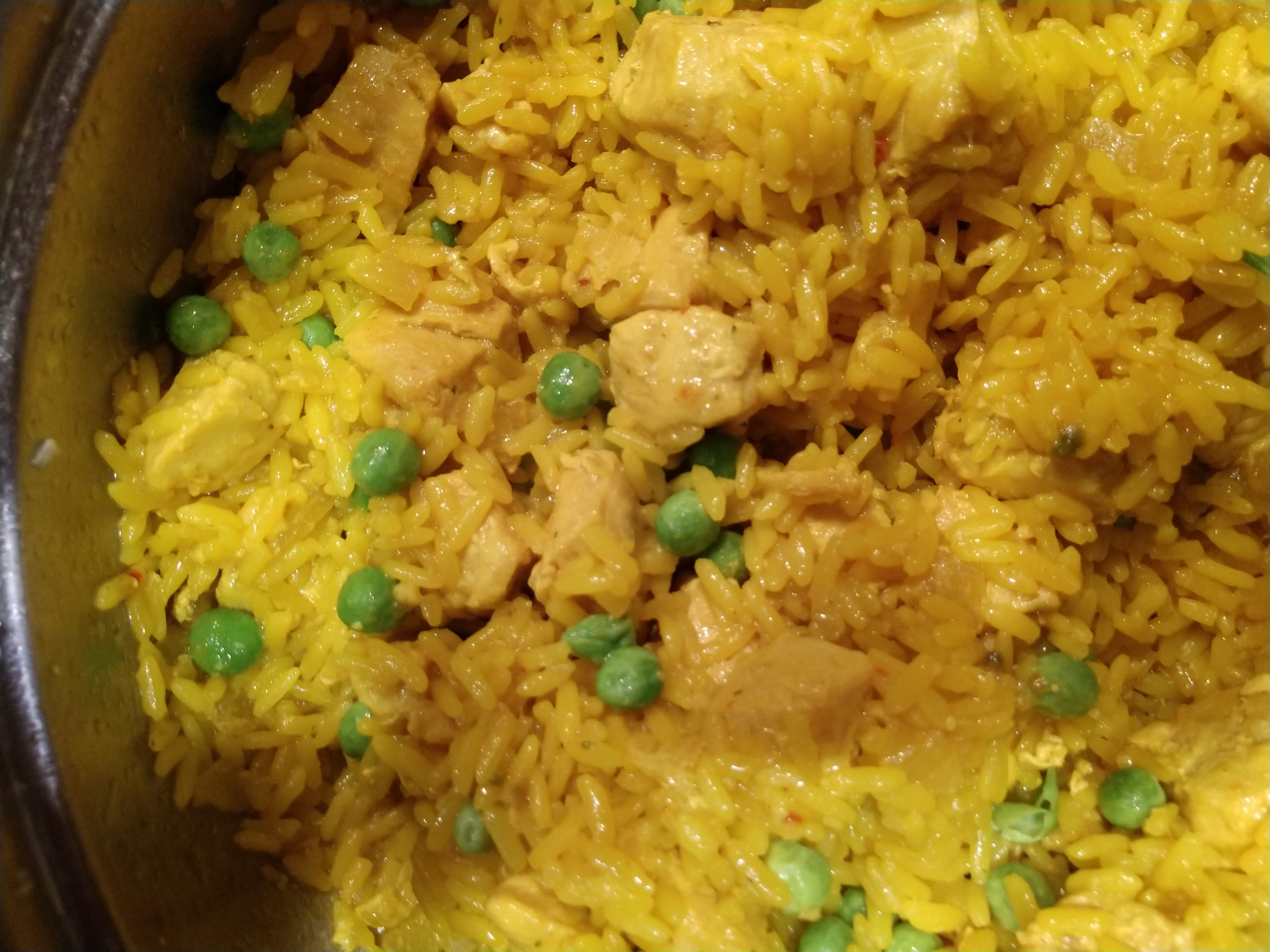 One-Pot Spanish Chicken and Yellow Rice Robert Campbell