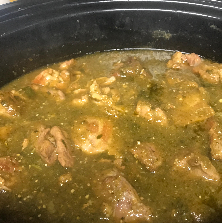 Slow Cooker Chile Verde