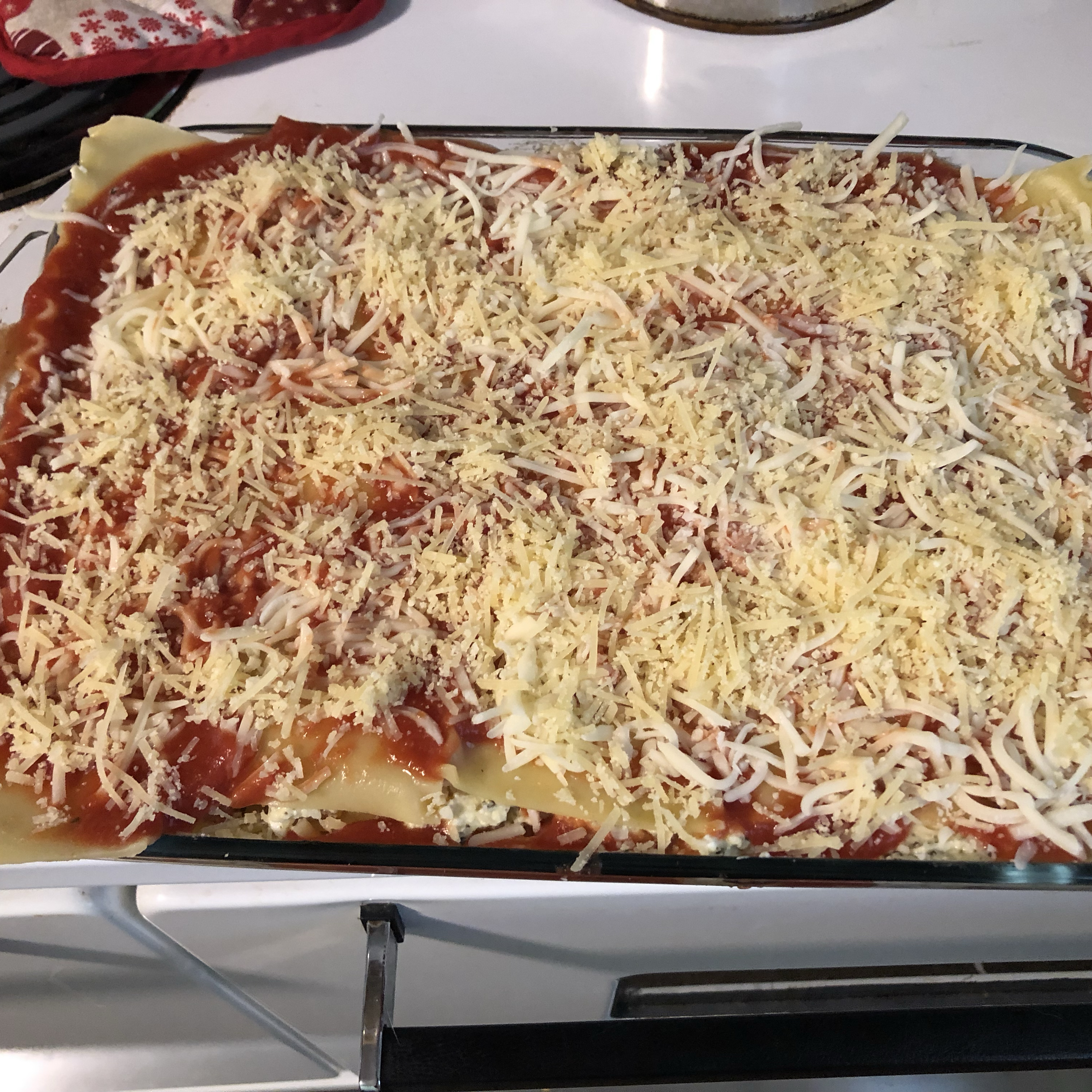 Vegetarian Four Cheese Lasagna sarah
