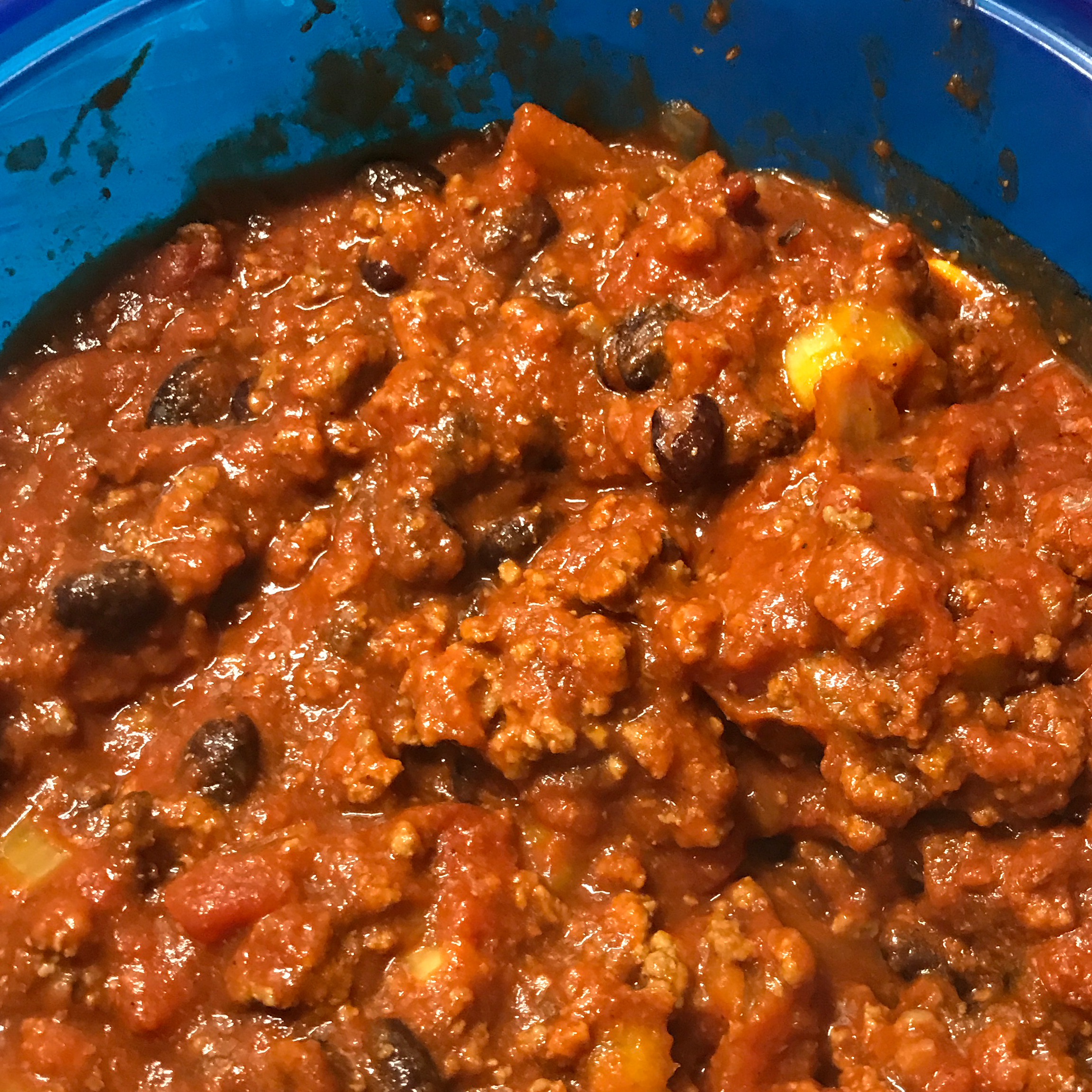 Low-Carb Slow Cooker Chili ilyse