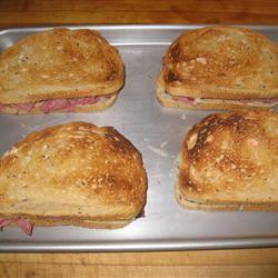 Broiled Reuben Sandwich Shelley