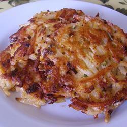 Cajun Potato Latkes