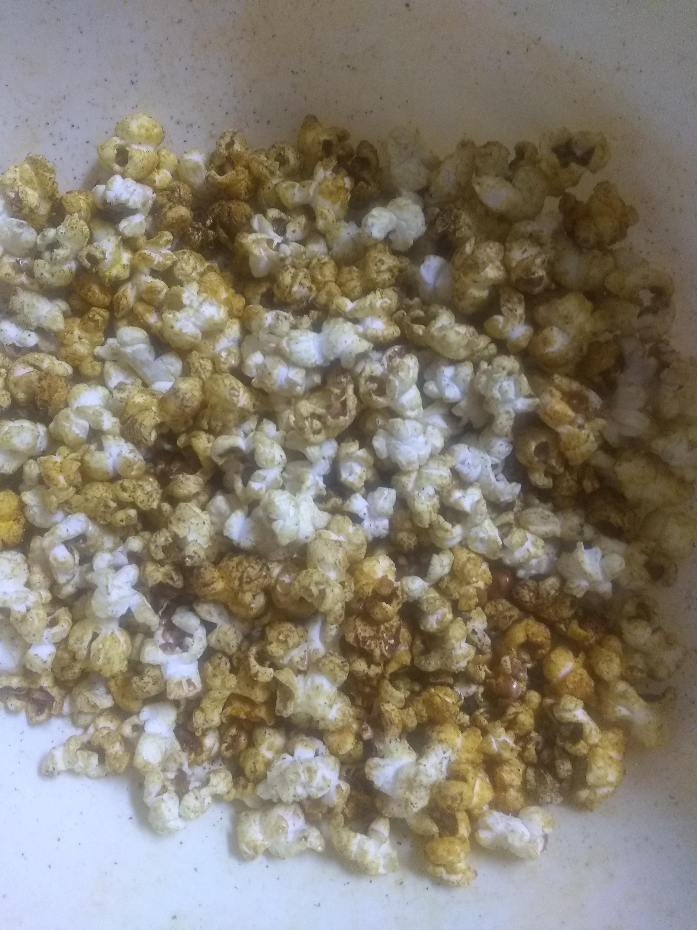 Curried Popcorn sharon jones