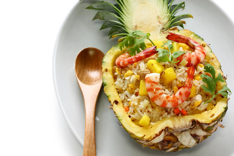 Pineapple-Shrimp Fried Rice Cool Runnings Foods