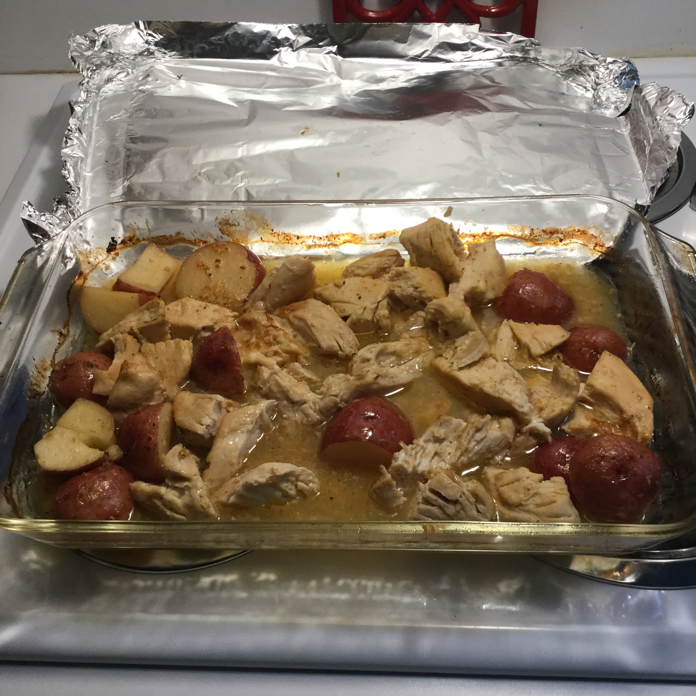 Red Potato Chicken