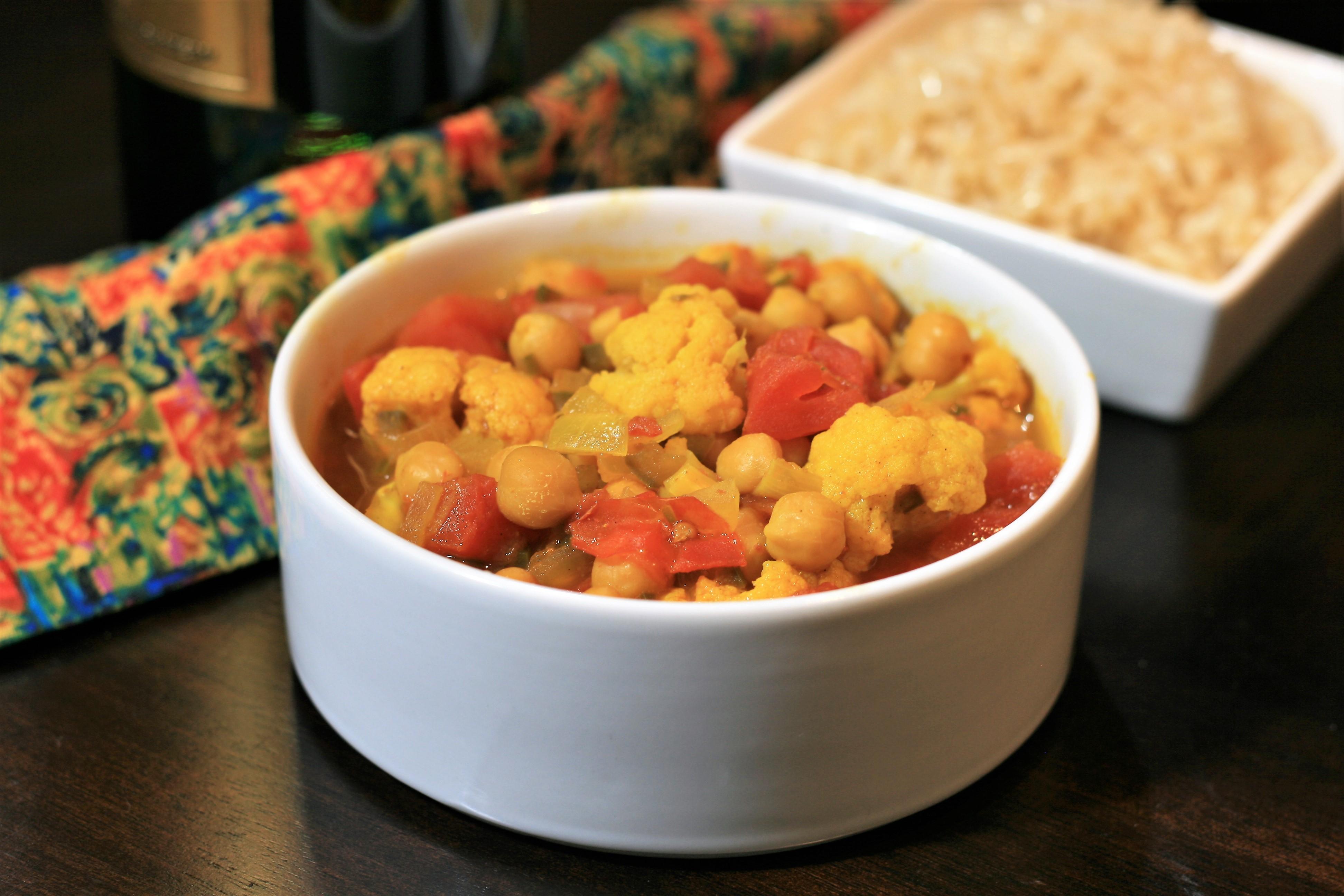 Chickpea and Cauliflower Stew