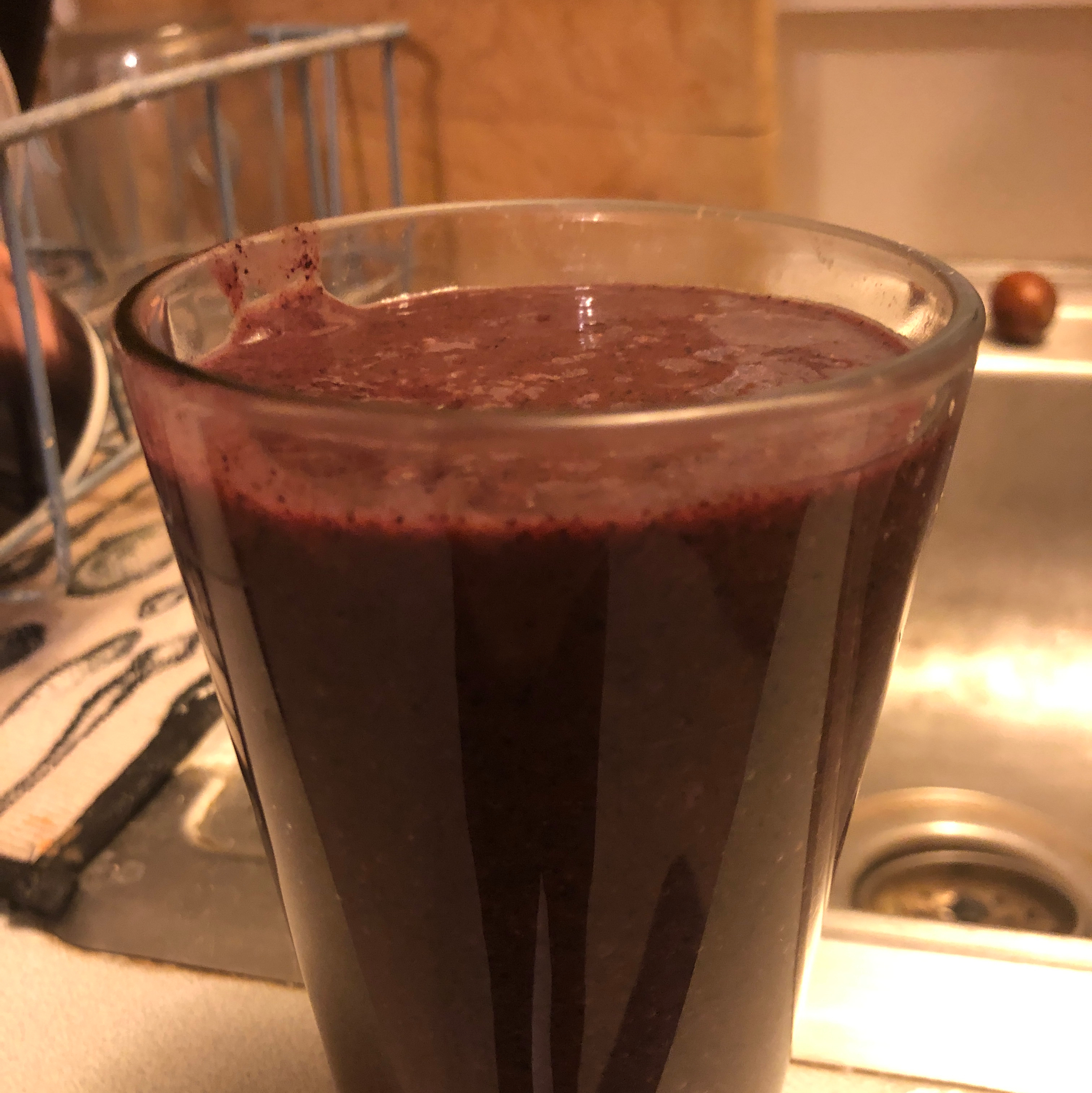Blueberry Mint Smoothie beverly