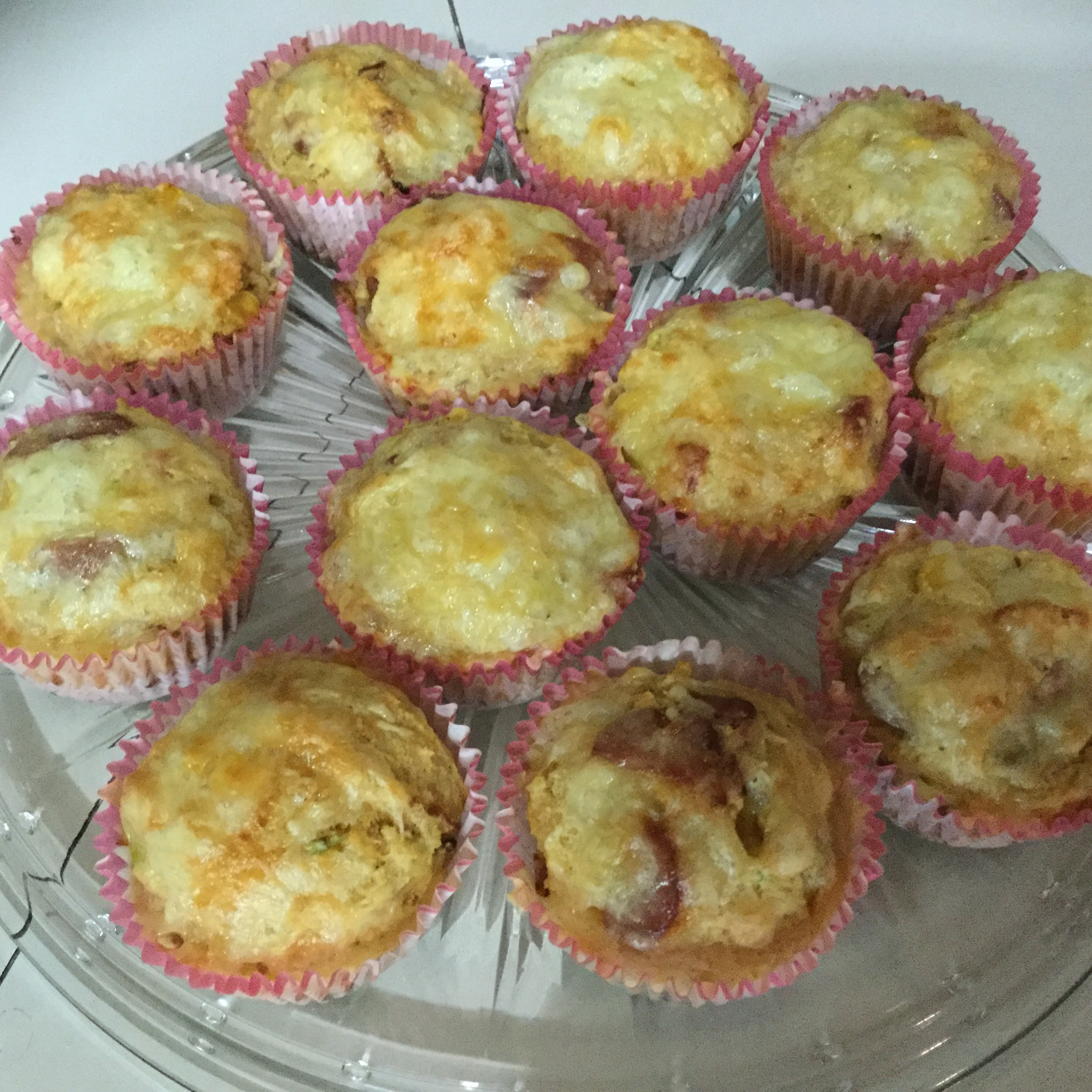 Sausage and Sweet Corn Muffins