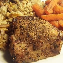 Cardamom Chicken with Salt and Pepper Crust Sarah-May